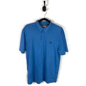 Volcom | Polo Shirt Blue Men's Size Large EUC